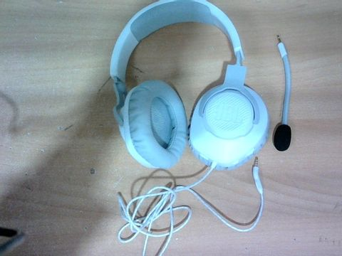 JBL QUANTUM 100 WIRED OVER-EAR GAMING HEADSET WITH BOOM MIC