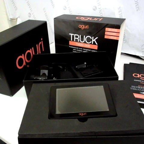 AGURI TRUCK NAVIGATION SYSTEM WITH BUILT IN DASH CAM TX520 DVR