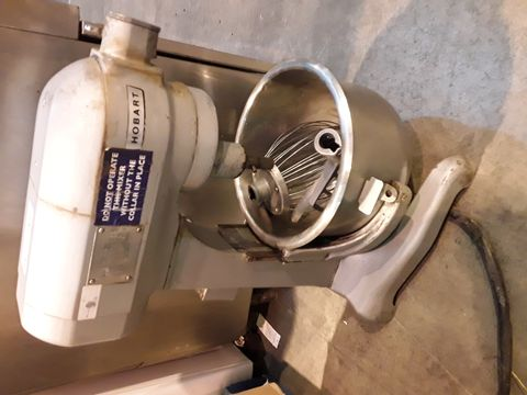 HOBART COMMERCIAL STAND MIXER WITH ATTACHMENTS