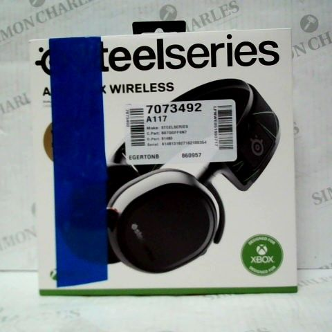 BOXED STEEL SERIES ARCTIS 9X XBOX ONE WIRELESS GAMING HEADSET
