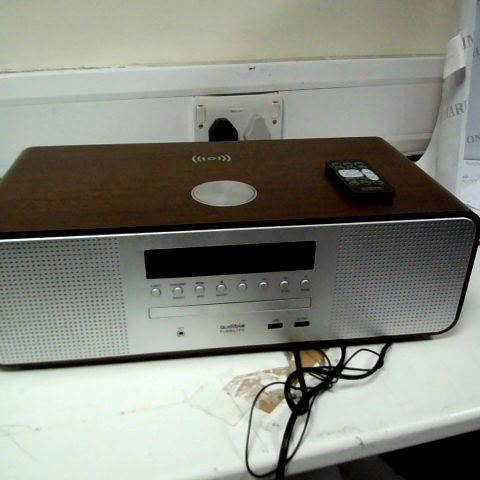AUDIBLE FIDELITY COMPACT WI-FI STEREO SYSTEM