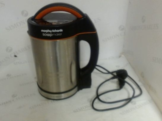 MORPHY RICHARDS 48822 SOUP MAKER, STAINLESS STEEL, 1000 W, 1.6 LITERS