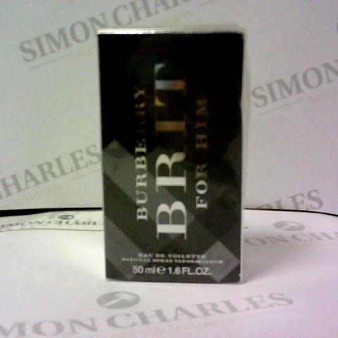 BOXED BURBERRY BRUT FOR HIM EAU DE TOILETTE 50ML