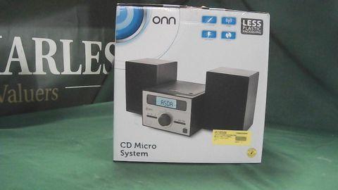 ONN CD MICRO SYSTEM