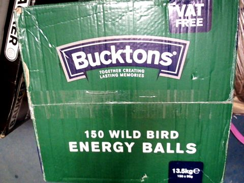 BUCKTONS 150 WILD BIRD ENERGY BALLS