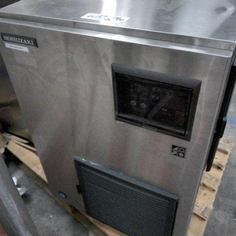 HOSHIZAKI COMMERCIAL FREESTANDING ICE MACHINE MODEL FM-480AKE & HOPPER (SEPERATE)