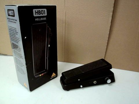 BEHRINGER HB01 HELLBABE GUITAR EFFECTS PEDAL