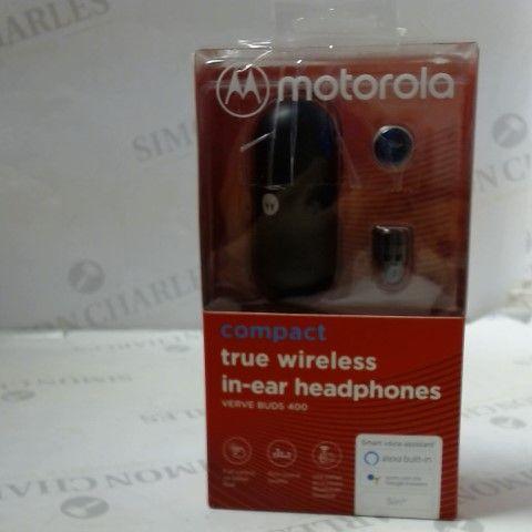 MOTOROLA COMPACT TRUE WIRELESS IN-EAR HEADPHONES