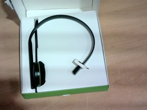 BOXED XBOX CHAT HEADSET