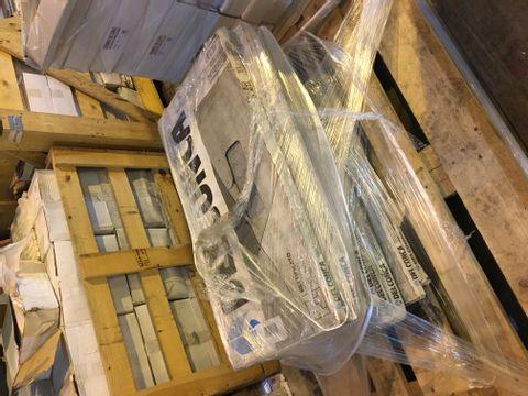 PALLET OF 10 PACKS OF DELCONCA CERAMIC TILES 400X800MM