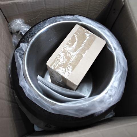 BOXED BUFFALO BLACK SOUP KETTLE L715