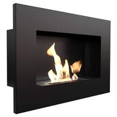 BOXED DORSEY RECESSED WALL MOUNTED BIO ETHANOL FIRE (1 BOX)