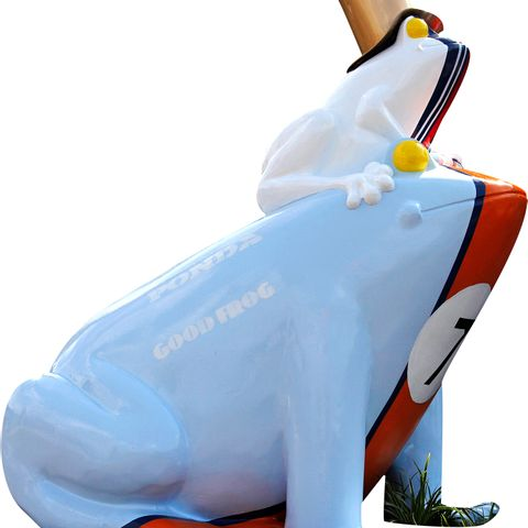 GulpOil Racing Frog