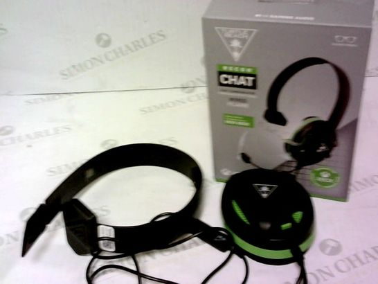 TURTLE BEACH RECON CHAT WIRED GAMING HEADSET FOR XBOX