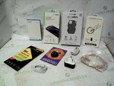 LOT OF A LARGE QUANTITY OF ASSORTED MOBILE PHONE ACCESSORIES, TO INCLUDE SCREEN PROTECTORS, CHARGERS, CASES, ETC