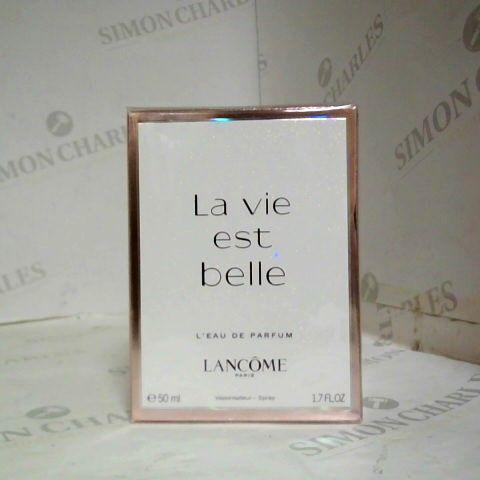 """LANCÔME """"LA VIE EST BELLE"""" EAU DE PARFUM 50ML"""
