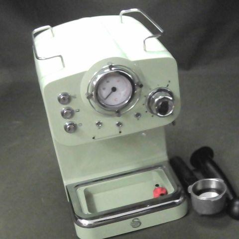 SWAN SK22110GN, RETRO PUMP ESPRESSO COFFEE MACHINE