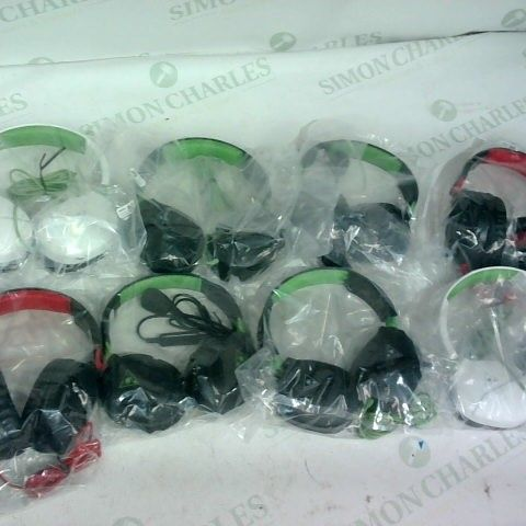 8 X ASSORTED PAIRS OF TURTLE BEACH GAMING HEADSETS