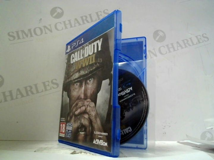 CALL OF DUTY: WWII PLAYSTATION 4 GAME