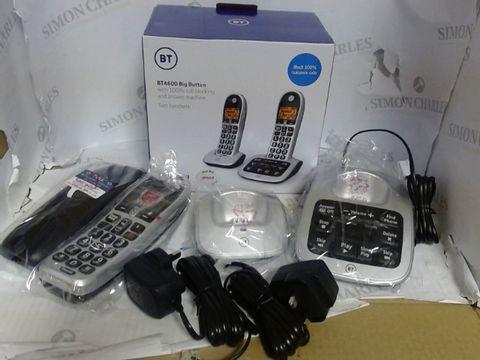 BT BT4600 BIG BUTTON TELEPHONES