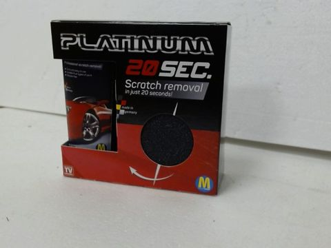 PALLET OF APPROXIMATELY 540 PLATINUM 20 SEC SCRATCH REMOVAL IN JUST 20 SECONDS