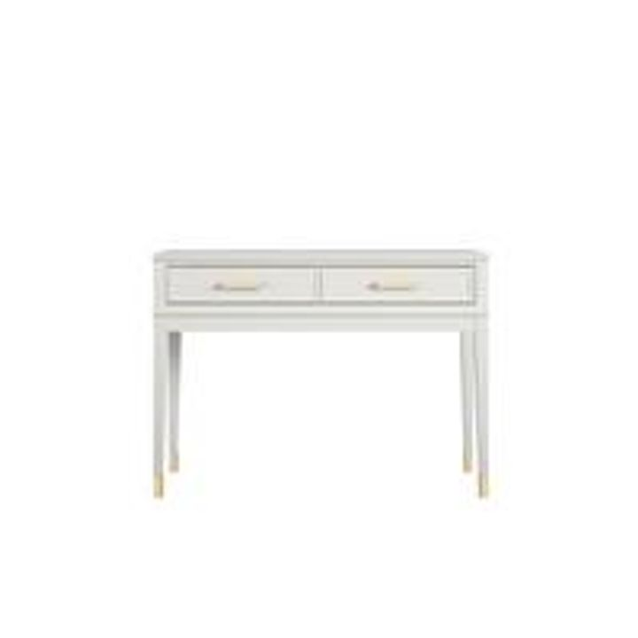 BOXED GRADE 1 COSMO LIVING WESTERLEIGH WHITE CONSOLE TABLE (1 BOX) RRP £300