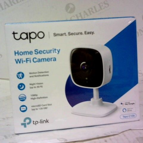 TP-LINK TAPO HOME SECURITY WI-FI CAMERA