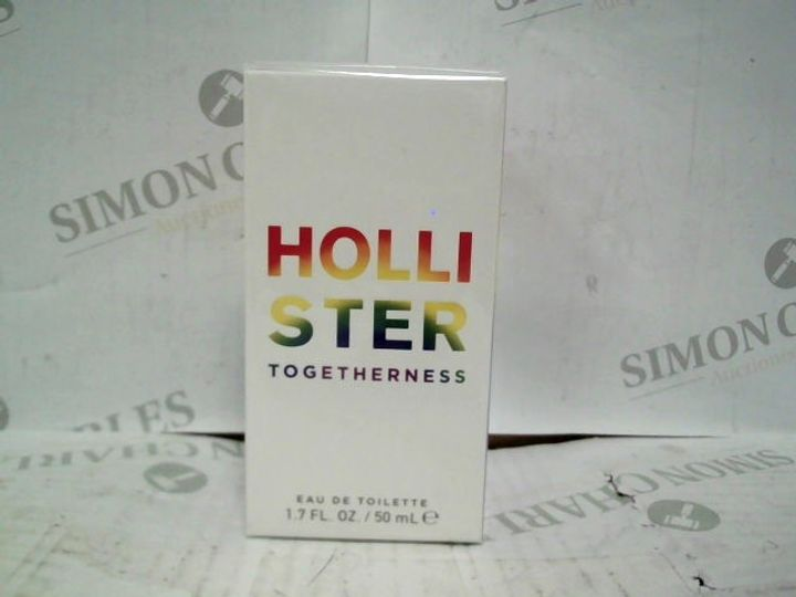 HOLLISTER TOGETHERNESS EDT - 50ML - BRAND NEW SEALED
