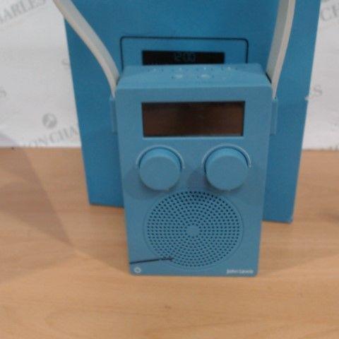 JOHN LEWIS SPECTRUM DAB/FM DIGITAL SHOWER RADIO