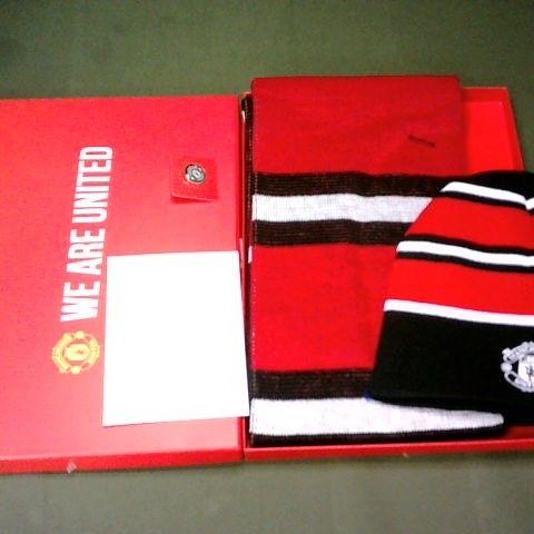 BOXED MANCHESTER UNITED 4-PIECE CLOTHING BOXSET