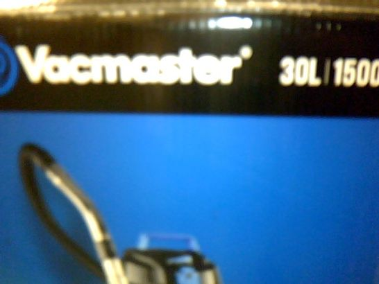 VACMASTER WET AND DRY VACUUM CLEANER 30L