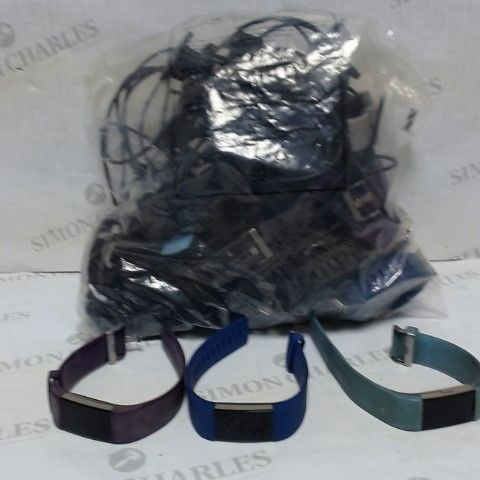 LOT OF APPROXIMATELY 20 UNBOXED FITBIT FITNESS SMART WATCHES
