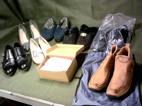 LOT OF 8 ASSORTED PAIRS OF SHOES