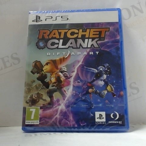 RATCHET & CLANK RIFT APART PLAYSTATION 5 GAME