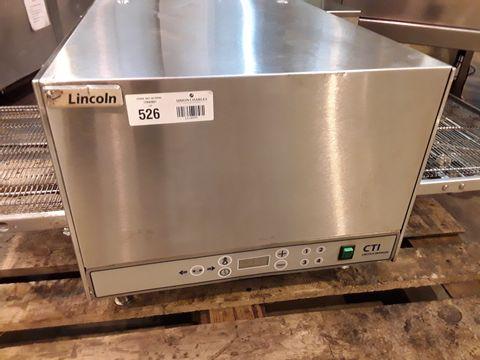 LINCOLN CTI 10004756D 3 PHASE ELECTRIC COUNTERTOP CONVEYOR OVEN