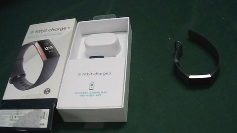 FITBIT CHARGE 3 (NO STRAP)