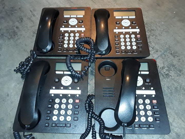 LARGE QUANTITY OF AVAYA 1608-I OFFICE PHONES