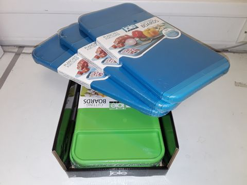 LOT OF 6 JOIE 3IN1 CUTTING BOARDS