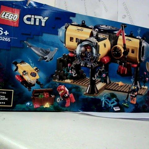 LEGO CITY 60265 OCEAN EXPLORATIN BASE
