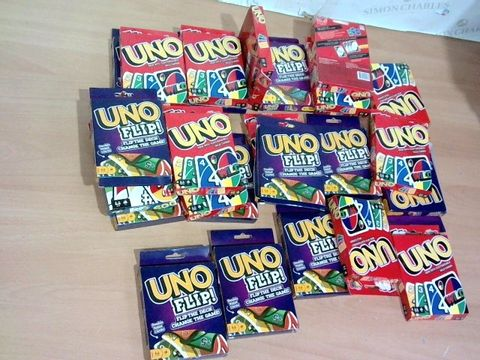 LOT OF 26 ASSORTED UNO GAMES