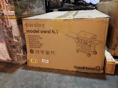 BOXED OWSLEY GAS BARBECUE