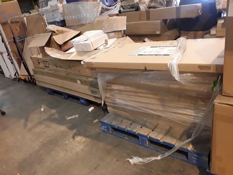 2 PALLETS OF ASSORTED FURNITURE AND PARTS
