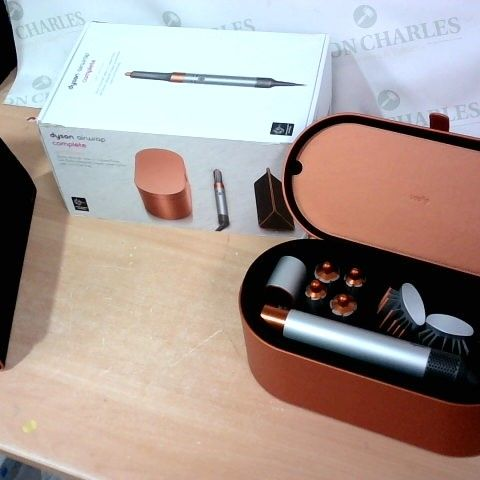 DYSON GIFT EDITION COPPER AIRWRAP COMPLETE  WITH PRESENTATION BAG AND TRAVEL CASE
