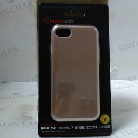LOT OF 10 BOXES OF 4 BRAND NEW BLACKWEB IPHONE 6/6S/7/8/SE 2020 CASES
