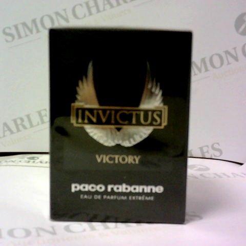 BOXED PACO RABANNE INVICTUS VICTORY EAU DE PARFUM EXTREME 50ML