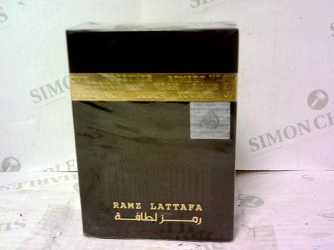 BOXED RAMZ LATTAFA EAU DE PARFUM 100ML