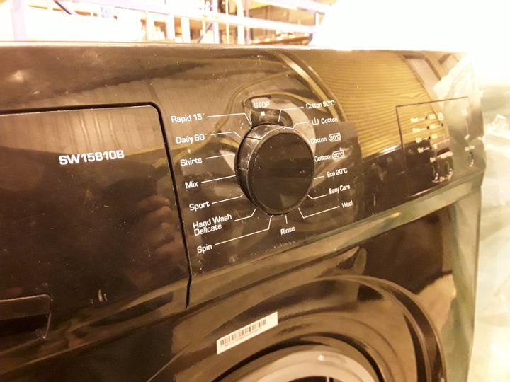 SWAN SW15810B 6KG 1200 SPIN WASHING MACHINE IN BLACK
