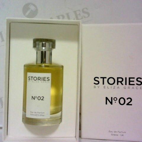 STORIES Nº.02 EAU DE PARFUM 100ML