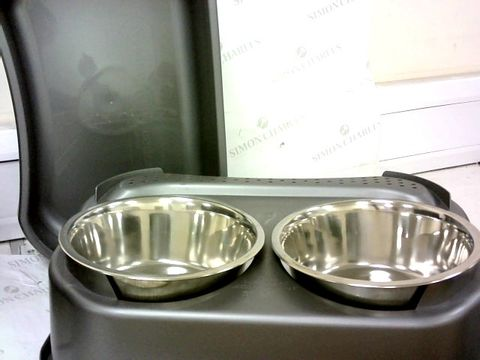 NEATER TWIN BOWL FEEDER