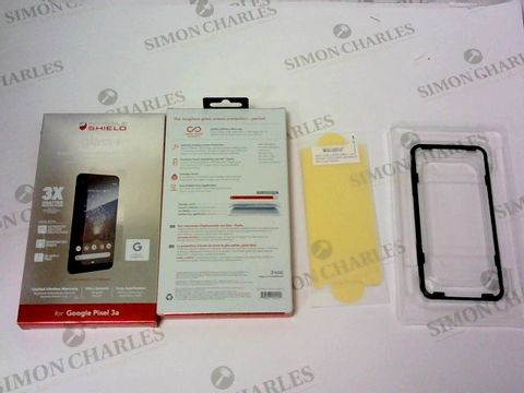 A BRAND NEW BOX OF APPROXIMATELY 10 INVISIBLE SHIELD GLASS + FOR GOOGLE PIXEL 3A